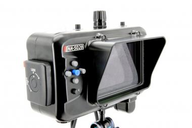 Custodia Subacquea per SmallHD 502 Bright Monitor NA-502B-S  (with HD-SDI input support )