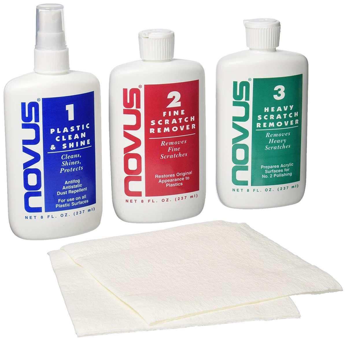 Novus polish - kit lucidatura plexiglass