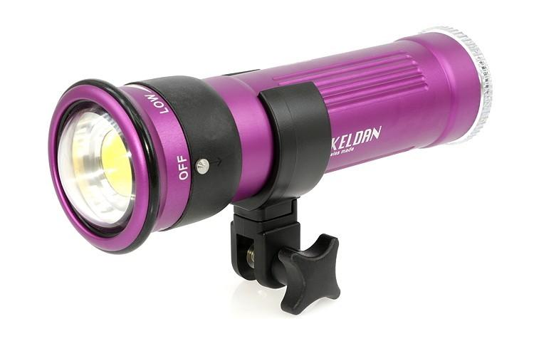 Faro subacqueo video KELDAN VIDEO 8X 18.000 lm CRI 82