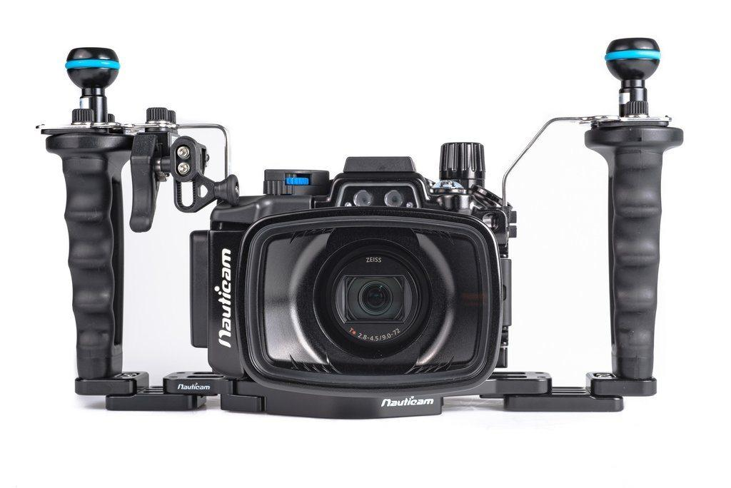Custodia NA-RX100VII Pro Package (Inc. flexitray, right handle, two mounting balls, M14 vacuum valve, shutter extension)